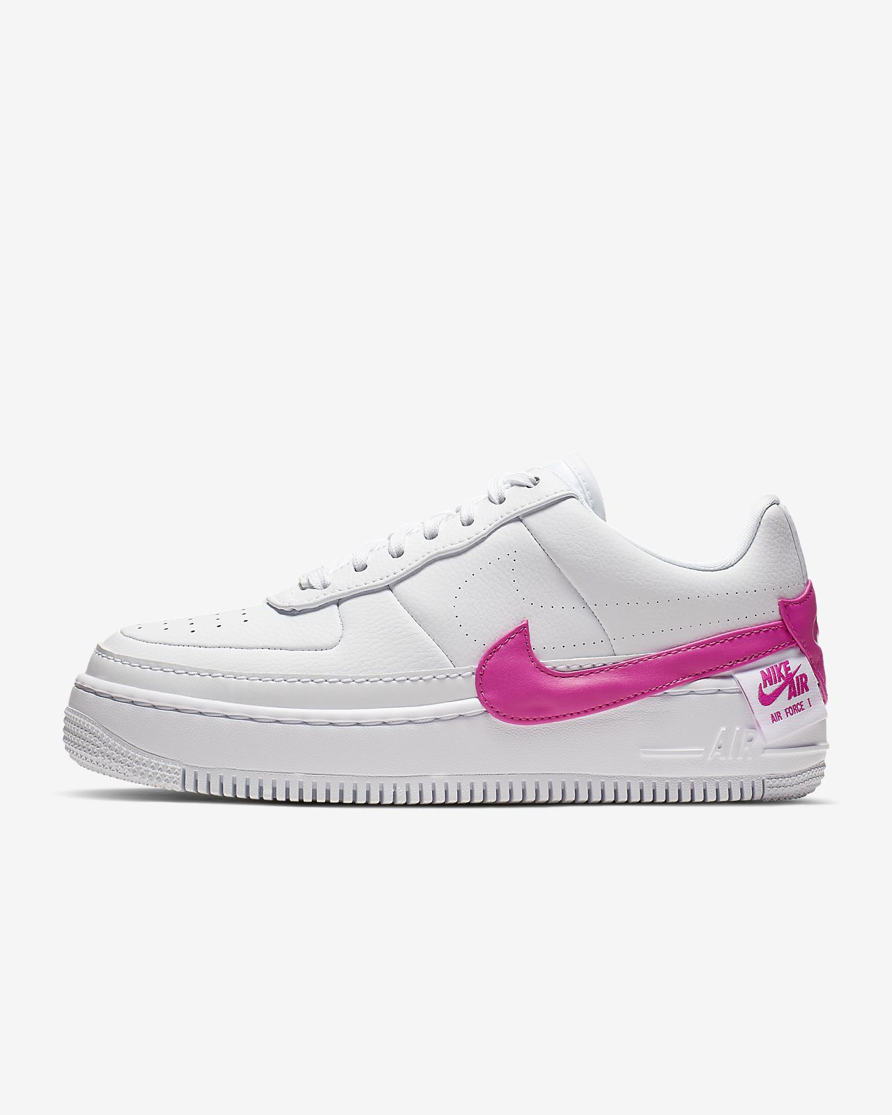 nike air force 1 con baffo rosa
