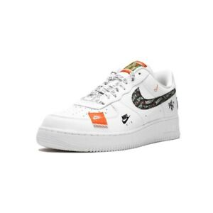 nike just do it scarpe air force 1 bianche