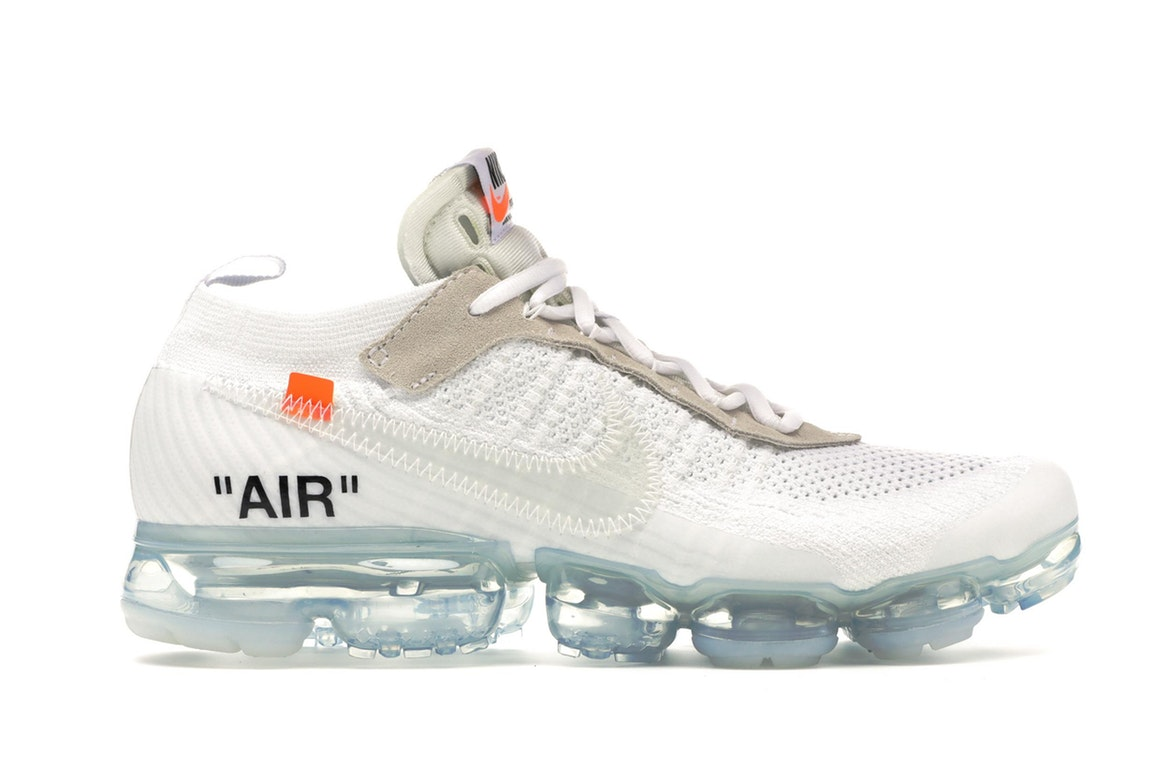 nike vapormax of white